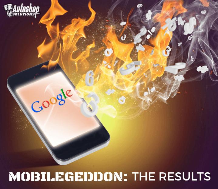 Mobilegeddon: The Results of  Google's Algorithm Change on April 21