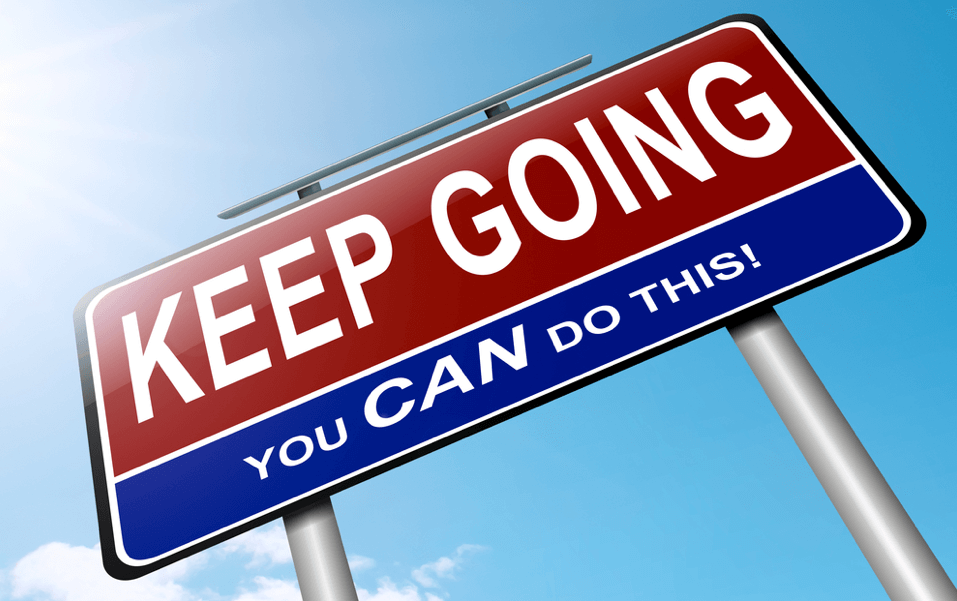 Keep Going! You CAN finish your automotive website!
