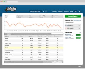 Screenshot of the Autoshop Lab
