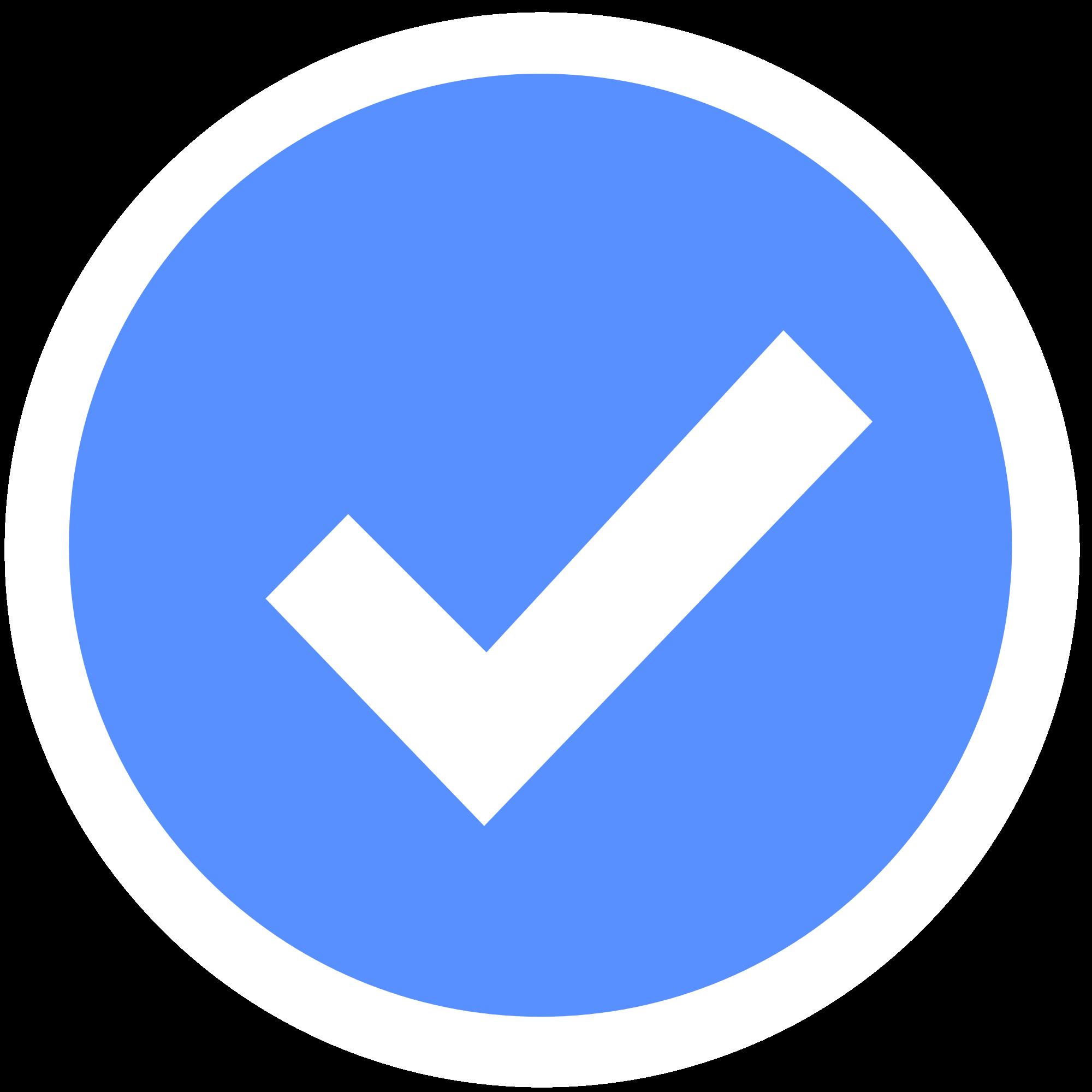 facebook-check-mark