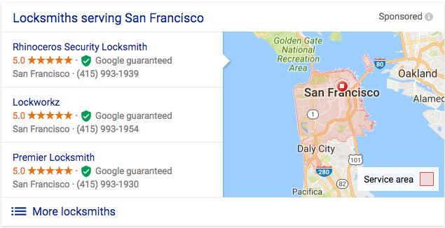 Image result for google locksmith guarantee